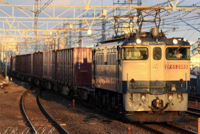 EF65-2089 18:28撮影 1092レ 市川駅