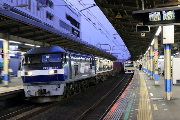 2021.8.28 18:20撮影 1092レ 船橋駅