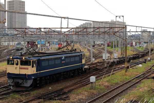 EF65-2068 配8592レ 隅田川駅