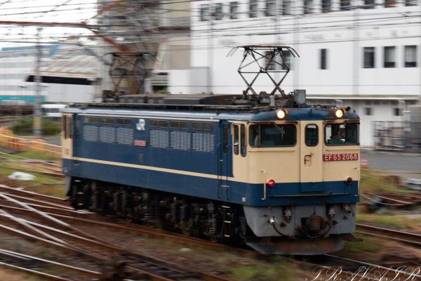 EF65-2068入換え