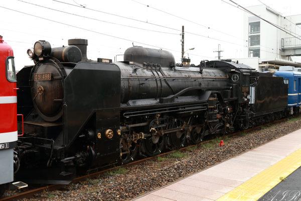 D51-498 配9141レ 矢板駅