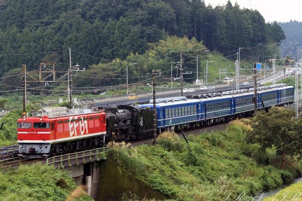 EF81-95 15:40撮影 配9141レ 矢板~野崎間