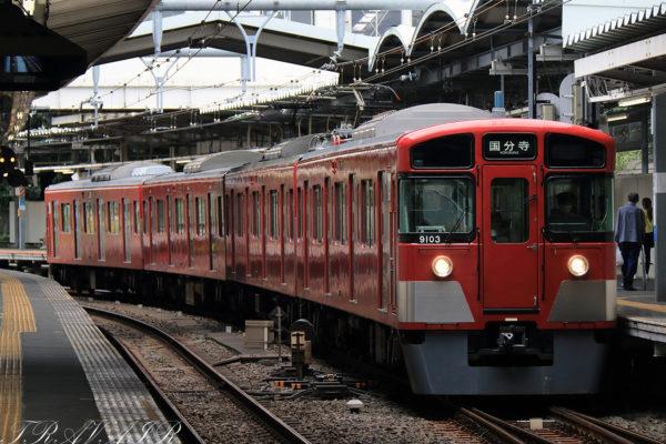 西武線 9000系 萩山駅