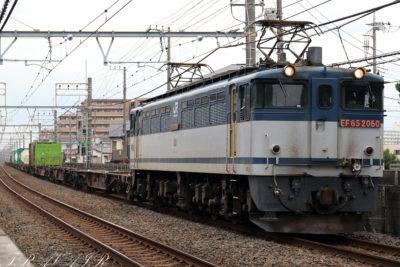 EF65-2060 4097レ 船橋法典~西船橋間