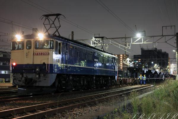 2021.10.9 23:10撮影 入換 新小岩(信)