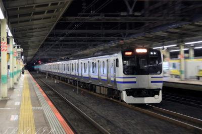 2021.10.11 20:48撮影 回2068F 市川駅